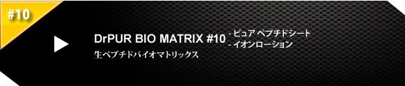 Dr.PUR-BEAUTE #10 BIO MATRIX